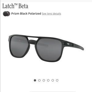 Oakley Latch Beta Matte Black Sunglasses